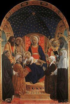 Vincenzo Foppa - La Pala Bottigella, 1480-1484, Pinacoteca Malaspina di Pavia
