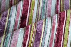 Lime * Pink * Purple * Turquoise •~• upholstery i have a bag made from this. I LOVE THE COLORS. -arod