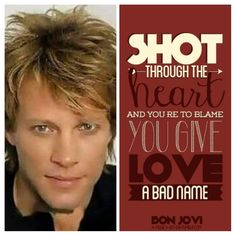 80s Songs, Never Let Me Down, Worst Names, Some People Say, Say More, Jon Bon Jovi, Cool Bands, Good Things, Guys