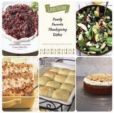 Family Favorite Thanksgiving Dishes