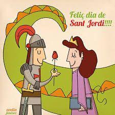 Resultado de imagen de sant jordi ilustraciones