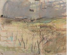 Joan Kathleen Harding Eardley (British, 1921-1963) 'Fields of Barley'
