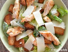 Chicken Caesar Salad | Slimming Eats - Slimming World Recipes