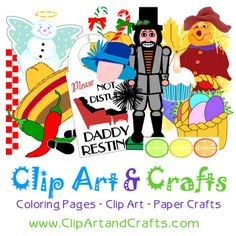 Clip Art, Coloring Pages, Paper Crafts, Printables, Craft Patterns Paper Art, Paper Crafts, Creative Activities, Craft Patterns, Coloring Pages, Free Pattern, Arts And Crafts, Clip Art, Printables