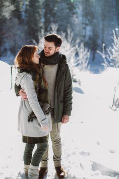 Wintershooting Schwarzwald, Winter Couple Shoot,