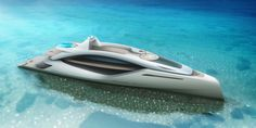 """Exterior Design Project of the Yacht Concept """"Euphoria"""" is aimed to provide an alternative point of view on design in Super Yacht Industry. Yacht Design, Boat Design, Explorer Yacht, Yacht Boat, Sailing Boat, Float Your Boat, Cool Boats, Super Yachts, Motor Yacht"""