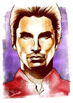 Christian Bale By Renato Cunha