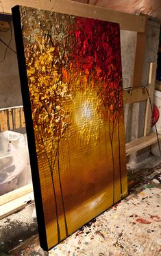 modern artwork thumbnail Source by Abstract Tree Painting, Canvas Painting Landscape, Acrylic Painting Canvas, Abstract Canvas, Abstract City, City Painting, Canvas Art Projects, Kunst Poster, Modern Artwork