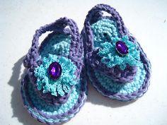 baby flip flops!