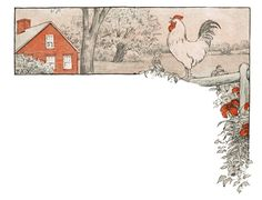 3 Free PrintableChicken Images via Knick of Time @ KnickofTime.net