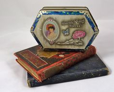 Dainty Dinah Toffee Tin by George W Horner & Co