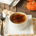 Holiday Recipe Swap: Vanilla Infused Pumpkin Crème Brulee Recipe | My Baking Addiction