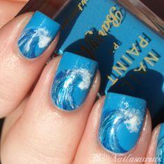 The Nailasaurus | UK Nail Art Blog: I Wanna Go Surfing