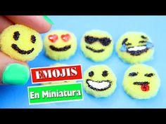 😀😍😋 DIY | Emojis en Miniatura - Manualidades para munecas - manualidadesconninos - YouTube