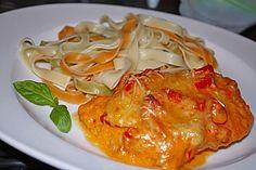 Paprika-Sahne-Hähnchen 1