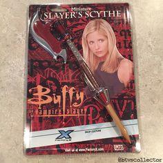 Buffy the Vampire Slayer - Factory X - Miniature Slayer's Scythe. #btvscollector #btvs #buffy #buffythevampireslayer