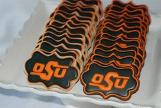 Cookies for Oklahoma State Cowboy fans. The Effective Pictures We Offer You About edmond Oklahoma A quality picture can tell you many things. Oklahoma State Football, Oklahoma State University, Cute Birthday Ideas, Edmond Oklahoma, Go Pokes, Tailgate Food, Tailgating, Cowboy Christmas, Cowboy Birthday