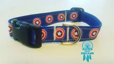 To celebrate Independence Day here is a Captain America Collar.  Every one be safe tonight. Keep your kids and fur kids safe!