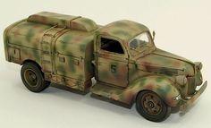 Ford Truck V3000 Brennstoff Tanker Luftwaffe