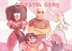 """If Dwayne """"The Rock"""" Johnson guest stared on an episode of Steven Universe, that would be awesome."""
