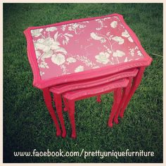 """""""#ascp #anniesloan #chesstable #distressedfurniture #distressed #etsy #emperorssilk #forsale #handpainted #instahome #loveit #morethanpaint #paintedfurniture #prettyuniquefurniture #refurbished #red #nestoftables #shabby #shabbychic #table #upcycled #vintage"""" Photo taken by @prettyuniquefurniture on Instagram, pinned via the InstaPin iOS App! http://www.instapinapp.com (04/14/2015)"""