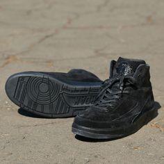 defc839b4666 Nike Air Jordan 2 Retro Decon (897521-010) Luxury Deconstructed Triple  Black USD