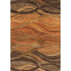 @Overstock - A unique abstract pattern highlights this hand-tufted wool rug. This area rug features shades of caramel, autumn leaf, chipmunk brown, rust and tan brown.http://www.overstock.com/Home-Garden/Hand-tufted-Metro-Classic-Multi-color-Wool-Rug-8-x-10/5111148/product.html?CID=214117 $287.99