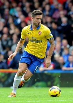 Olivier Giroud - my new excuse to watch Arsenal