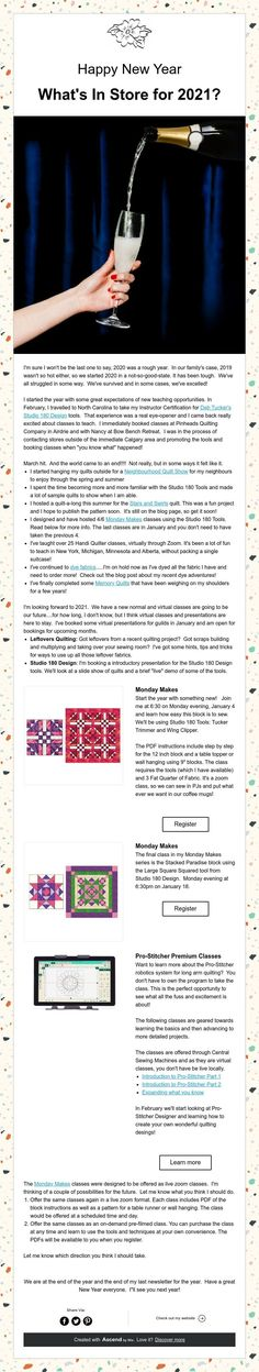 Happy New Year Happy New Year, Quilting, Store, News, Happy Year, Storage, Scraps Quilt, Business, Patchwork