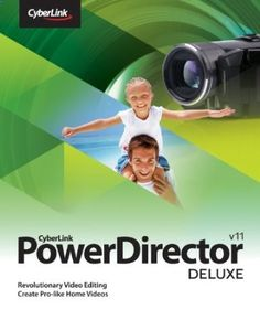 CyberLink PowerDirector 11 Deluxe provides the easiest and fastest way to create and share your home videos. With 300  editing tools and 100  built-in effects, you can easily turn your home videos into your whole time favorite home movies. Got no time for video creation? Simply select the video footages and photos, PowerDirector 11s MagicStyle tool will automatically add pro-looking templates, transition and music, and create videos in minutes like magic! Price: $69.99
