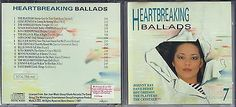 "CD "" Heartbreaking Ballads 7 Musik Album CD's Sammlung- Dance Pop Rock Top Ab 1€sparen25.com , sparen25.de , sparen25.info"