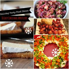 New Appetizers Easy Christmas Parties Ideas Recipes Appetizers And Snacks, Appetizers For Party, Appetizer Ideas, Meatball Appetizers, Mexican Appetizers, Italian Appetizers, Cold Appetizers, Vegetarian Appetizers, Party Recipes