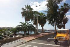 'Auf dem Weg in die Stadt' aus dem Reiseblog 'Über Weihnachten auf den Kanaren: Urlaub im Dorado Beach auf Gran Canaria'