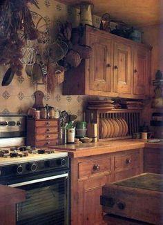 So love this kitchen...