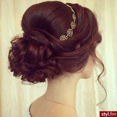 Image about hair in wedding ❤️💍 by Tania Latif Elegant Hairstyles, Wedding Hairstyles, About Hair, Gorgeous Hair, Bridal Hair, Dreaming Of You, Long Hair Styles, Image, Beauty