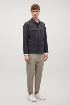 COS | Jacket with flap pockets