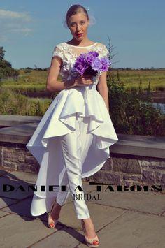 resultado de imagen de wedding jumpsuits