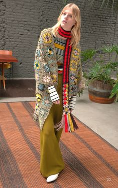 Missoni Pre-Fall 2018 Collection Photos - Vogue #fallwomenclothing