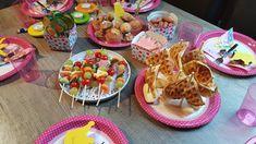 Prinzessinnen Party zum 4. Geburtstag - Bidilis-Welt Snacks Für Party, Food Art, Buffet, Good Food, Fun Food, Food And Drink, Mexican, Breakfast, Birthday