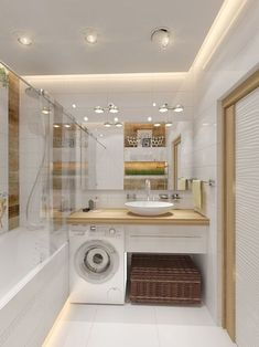 40 Of The Best Modern Small Bathrooms & Functional Toilet Design Ideas – Archishere Modern Small Bathrooms, Ideal Bathrooms, Bathroom Design Small, Bathroom Modern, Bathroom Designs, Bathroom Vintage, Vintage Laundry, Minimalist Bathroom, Bath Design