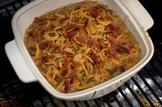 Team Traeger | Traeger Thanksgiving: Classic Green Bean Casserole with BACON