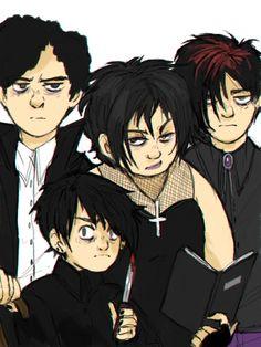 Pete, Firkle, Henrietta, Michael