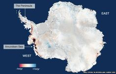 Antarctica is now losing about 160 billion tonnes of ice a year to the ocean - twice as much as when the continent was last surveyed.