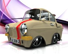 VW cartoon Vw Cars, Pedal Cars, Top Gear Challenges, Vw Rat Rod, T2 T3, Hot Rods, Hot Vw, Car Posters, Car Drawings