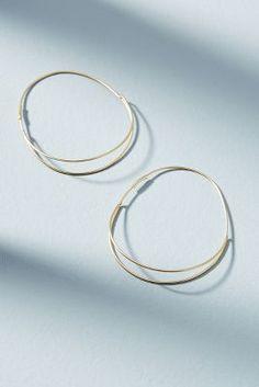 Elowen Hoop Earrings | Anthropologie