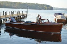 1940 Gar Wood Deluxe Utility Riva Boat, Classic Wooden Boats, Vintage Boats, Old Boats, Speed Boats, Boat Building, Water Crafts, Vintage Wood, Sailing Ships