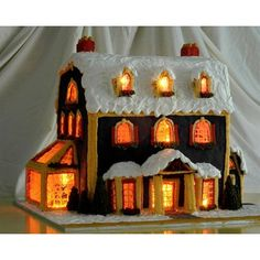 Detailed Instructions for Making a #Gingerbread House