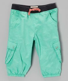 Loaded with pockets and accented with elastic hems, these cheerful harem pants are effortlessly cool and unbelievably practical. Pair with running shoes for a day of adventure or slip on some flats for a stylish look.70% cotton / 30% nylonMachine washImported