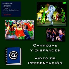 https://www.facebook.com/video.php?v=1469138380033819 • Floats & Fancy Dress • Carrozas y Disfraces de los pueblos • Mondéjar • Pastrana • Yebra • Zorita de los Canes • Tarancón • LESLIE fotógrafo fiestas •