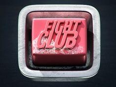 Dribbble - Fight Club Icon by Evgeny Skidanov